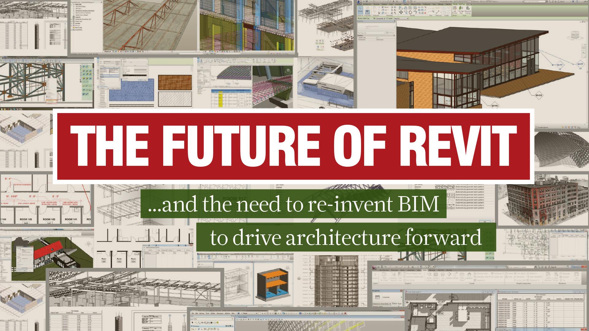 The future of Revit