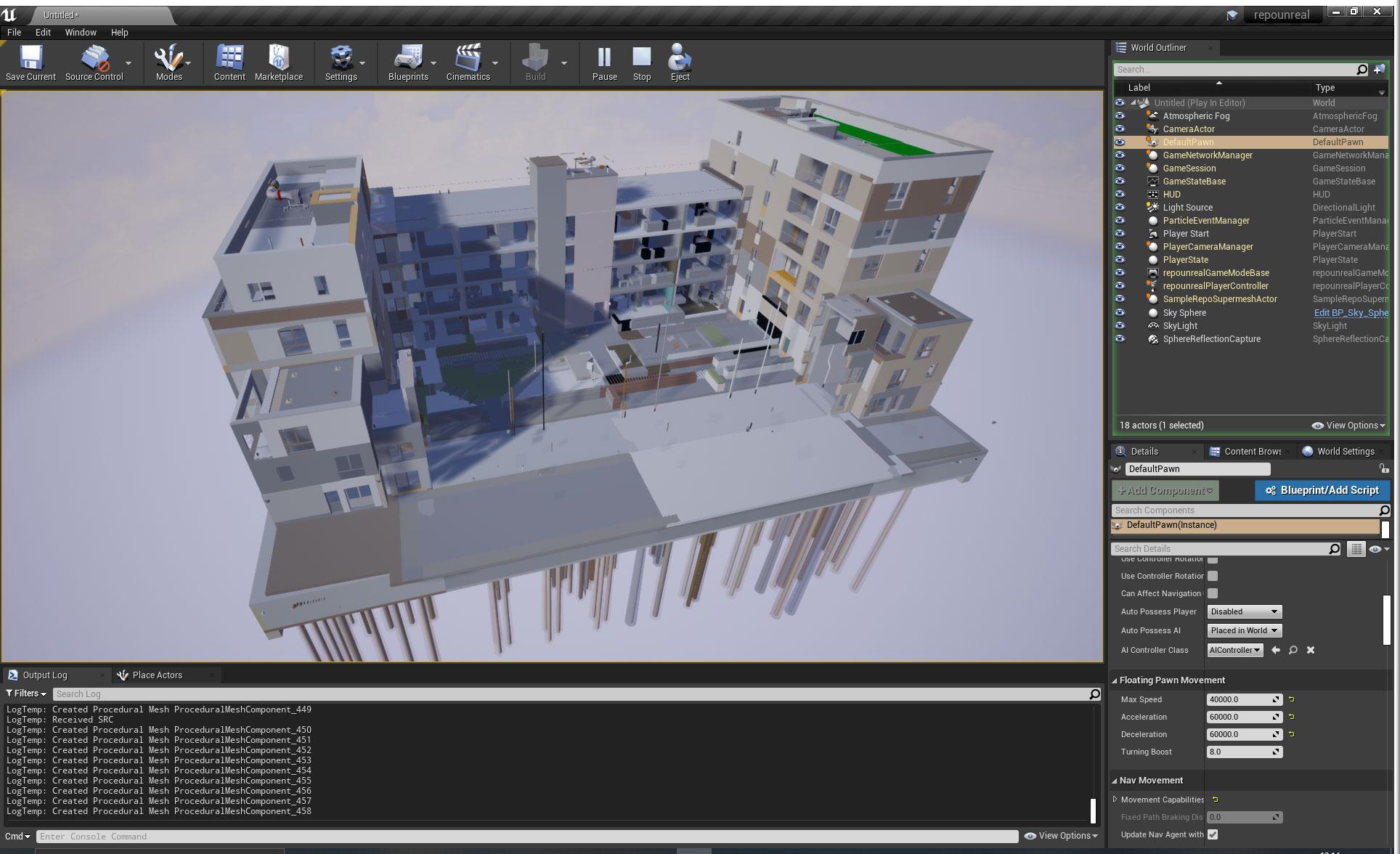3D Repo - Unreal Engine in architecture and BIM