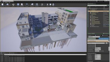 3D Repo Unreal Engine for digital twin platform