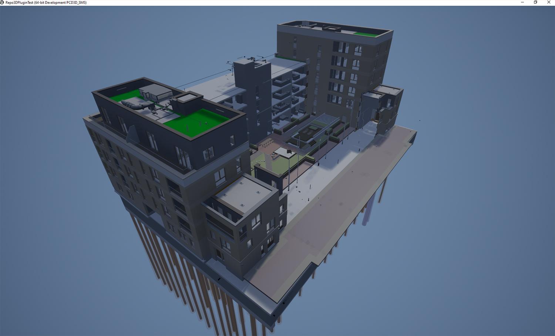 3D Repo Unreal Engine for digital twin platform