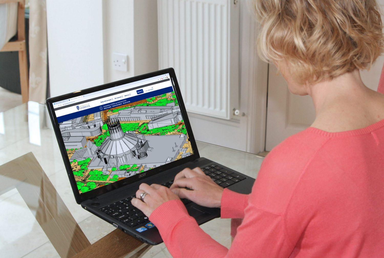 3D context models help bring architectural studies online
