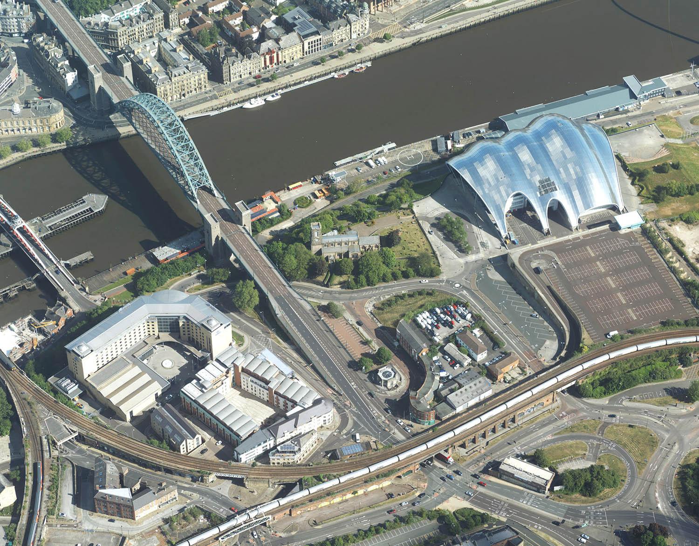BlueSky Newcastle upon Tyne dataset for flood risk modelling