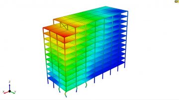 CivilFEM powered by Marc for civil engineering simulation