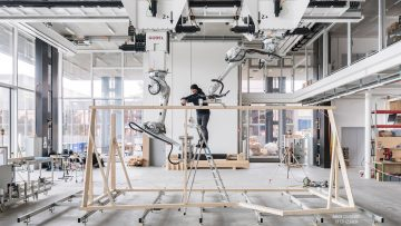 ETH Zurich DFAB house robotic assembly
