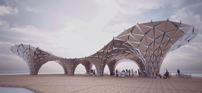 aluminium pavilion