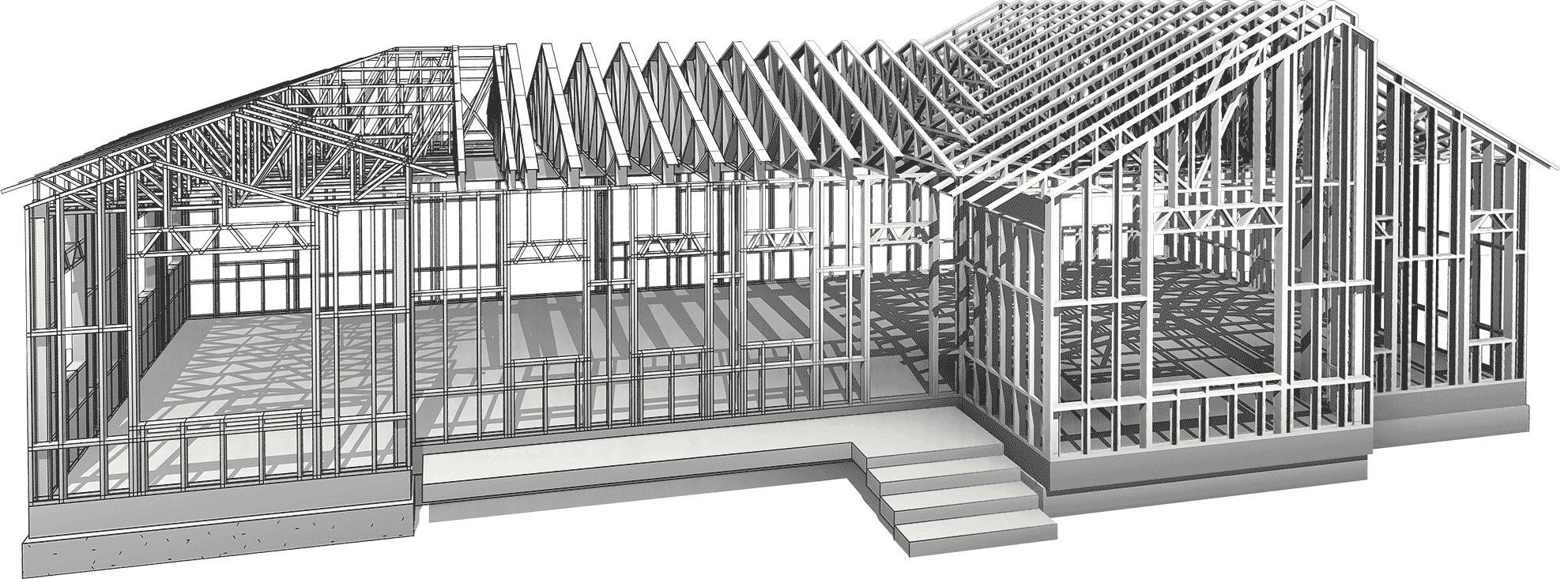 Strucsoft Revit fabrication model
