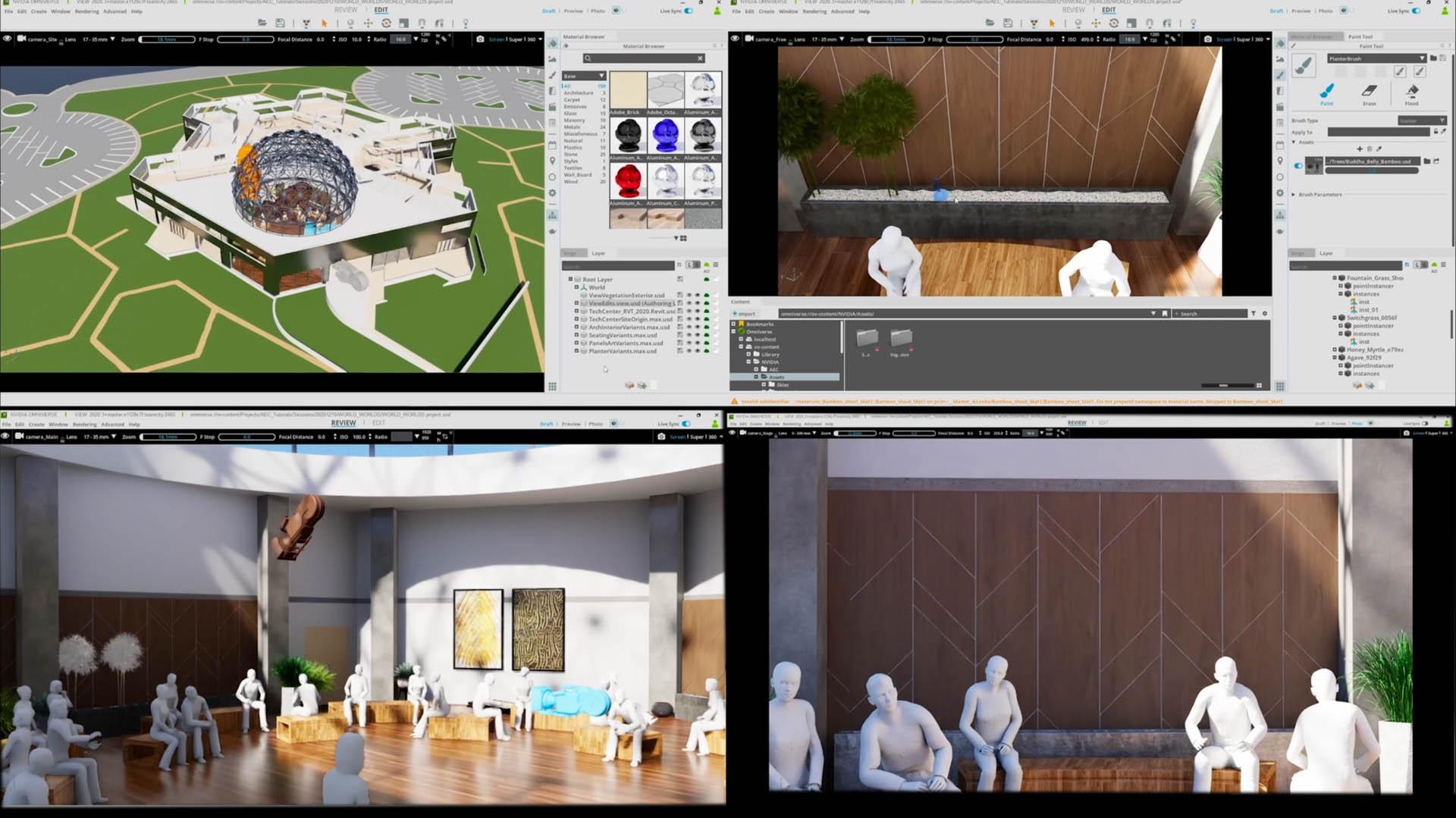 Nvidia Omniverse AEC collaboration