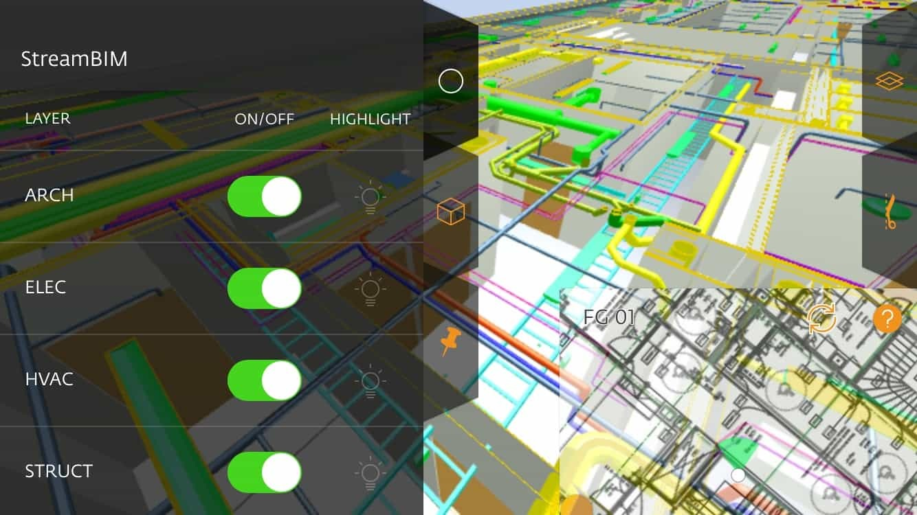 StreamBIM construction software
