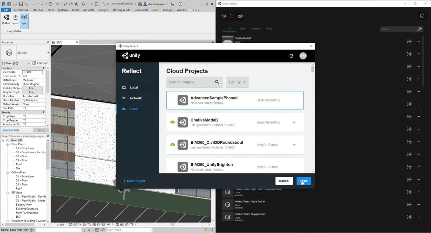 Unity Reflect Review cloud hosting