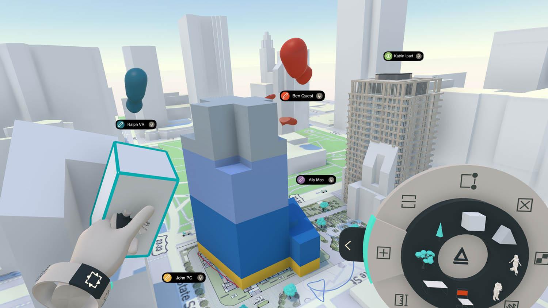 Modelling in Arkio in VR