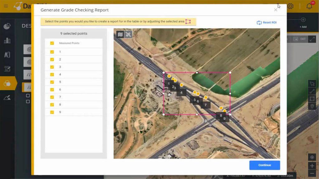 DatuBIM automated digital grade checking