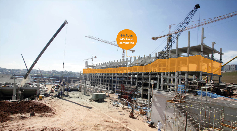 GeoSLAM Construction Progress