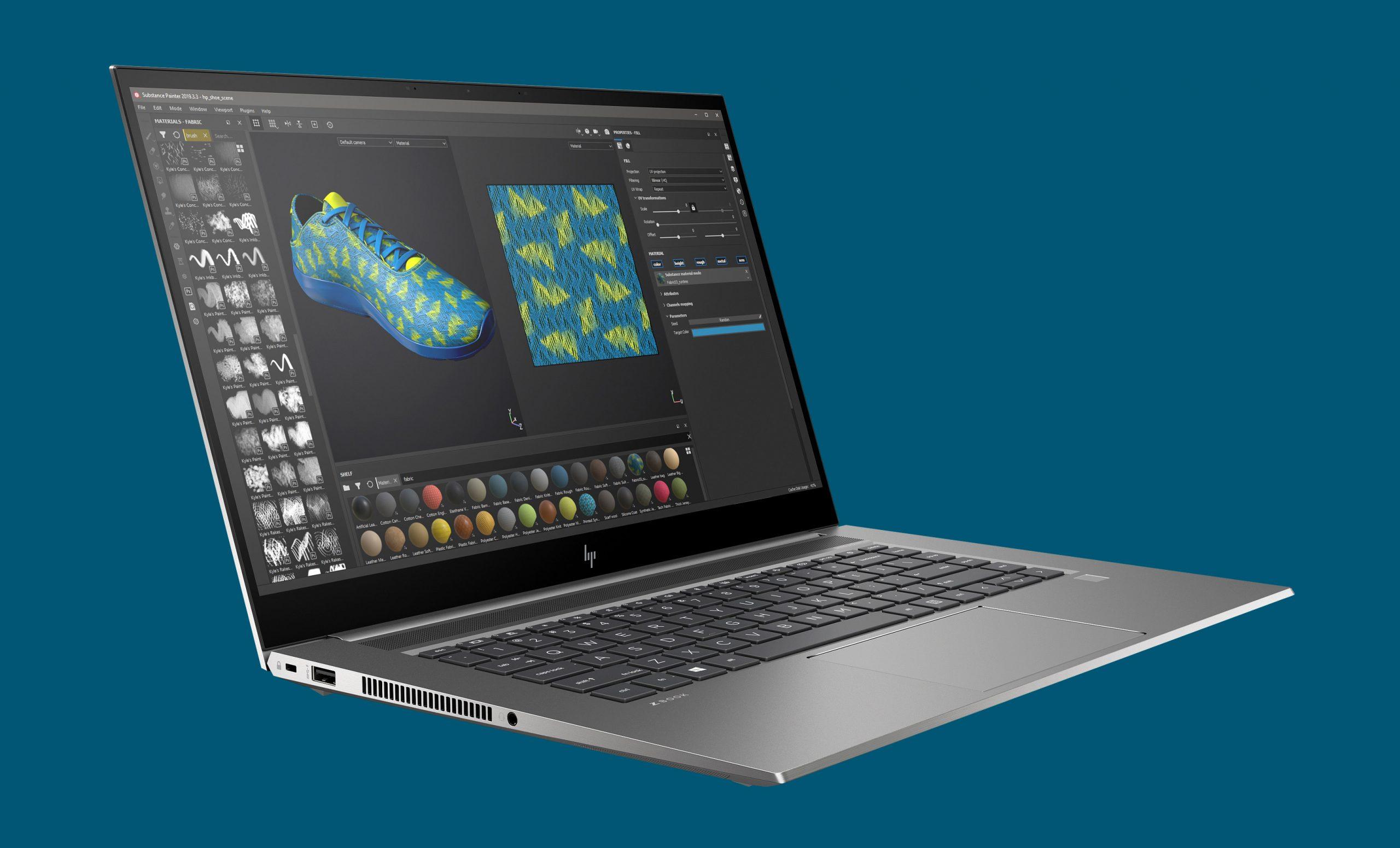 HP ZBook Studio G8 - - lightweight workstation laptops 2021
