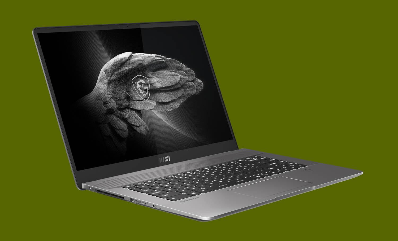 MSI Creator Z16 - lightweight workstation laptops 2021