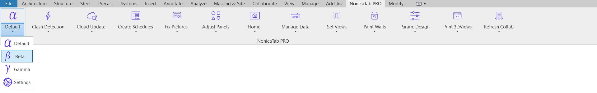 NonicaTab PRO Profile Selector