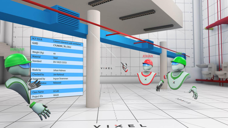 VREX - collaborative VR for architecture