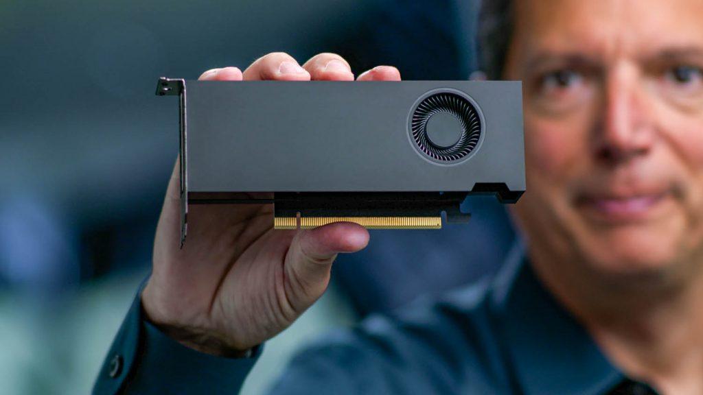 Nvidia RTX A2000 desktop GPU