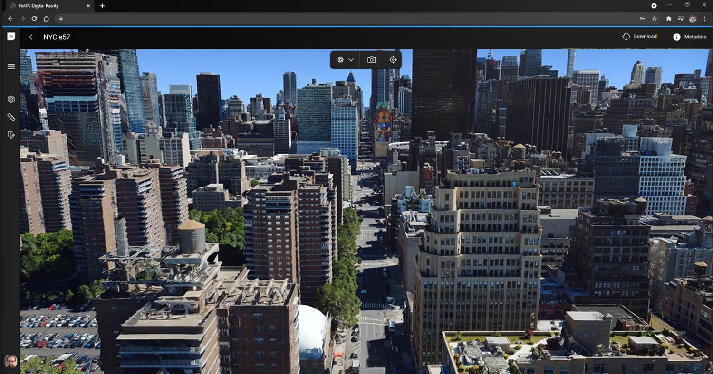 HxGN Metro HD urban landscape